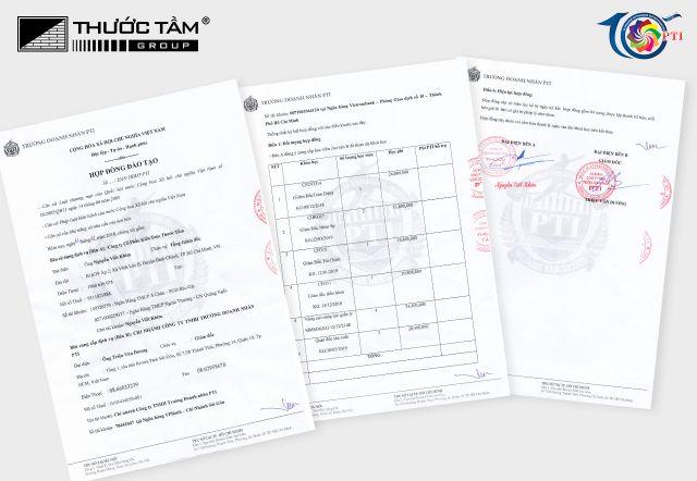 Thước Tầm Group và tổ chức giáo dục PTI ký kết đào tạo cho đội ngũ cán bộ quản lý cấp cao